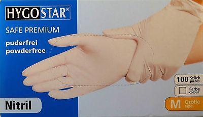 100 Einmalhandschuhe Latex Premium Puderfrei Gr M Wei/ß 100 Stk Einweghandschuhe Wei/ß