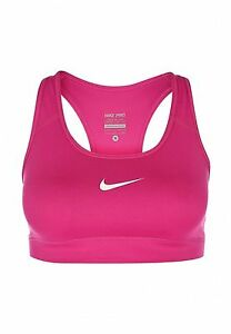 1f2d9579690ba Details about Nike Pro Victory Compression Sports Training Bra Women Size  XS Pink 357833 670