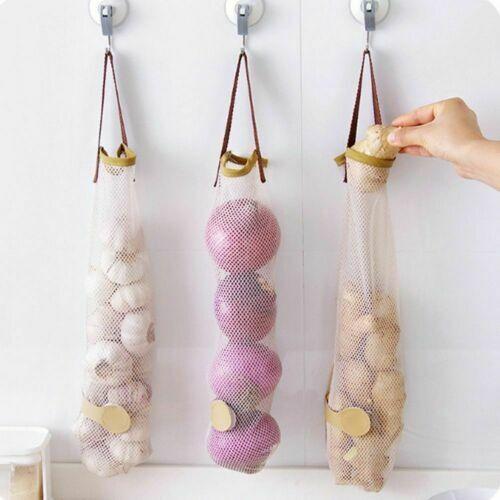 Vegetable Storage Hanging Bag Reusable Grocery Produce Bag Ecology Shopping Bag
