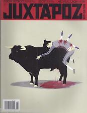 Juxtapoz art magazine Detroit Escif Michael Leon Thais Beltrame Frank Kozik