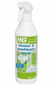HG Shower And Washbasin Cleaning Spray Bathroom Cleaner Ml EBay - Spray bathroom cleaner