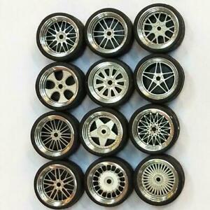 1-64-llantas-de-aluminio-personalizada-Hot-Wheels-for-Matchbox-tomy-gummire-i3w5