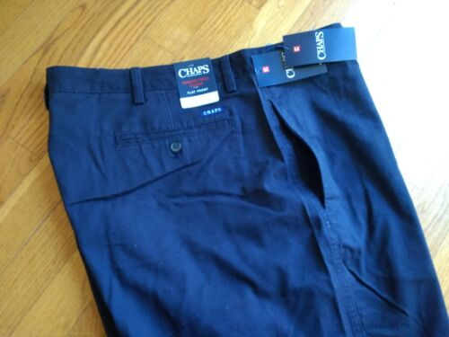 Mens Chaps 100/% Cotton Flat Front Washed Twill Chino Shorts 44 48 50 $60 NWT