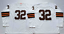 Jim-Brown-Cleveland-Browns-32-stitched-jersey-white-brown-men-039-s-player-game thumbnail 6