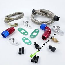 Oil Feed Line Kit Fitting For Toyota Supra 1JZGTE 2JZGTE 1JZ/2JZ Single Turbo