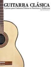 Guitarra Clásica : 4 piezas para Guitarra Clásica en Partitura y Tablatura by...