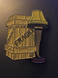 Details about A Christmas Story Let Lamp Custom Enamel Pin