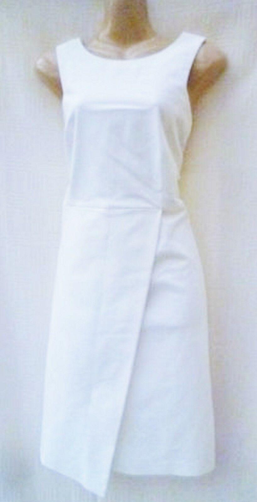 LAURA CLEMENT COTTON BLEND STRAIGHT CUT DRESS SIZE 14 UK ()
