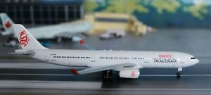 1:400 Scale Dragon Wings DRAGON AIR Airbus A.330-300, B-HYB, stand included