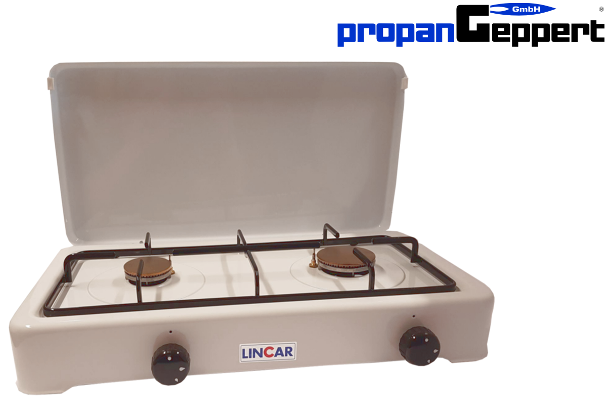 Gaskocher LINCAR 2 flamming Propan - Campingkocher