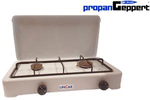 Gaskocher-LINCAR-2-flamming-Propan-Campingkocher