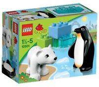 Lego Duplo Polartiere Zoo Kinder Spielzeugfiguren Bauen Spielspaß Bunt Geschenk