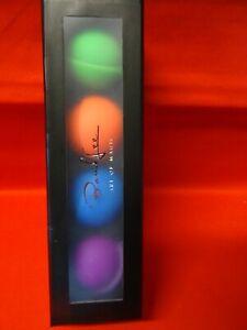 Bond Lee's coffret 4 balles de 4 couleurs différentes en silicone Magiclism