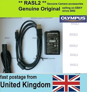 Genuine-Original-Olympus-Charger-USB-Cable-for-Tough-TG-4-TG-870-F-3AC