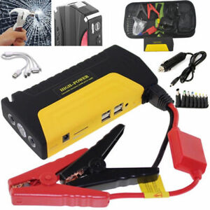 Details About 68800mah 12v Petrol Car Power Bank Mini Jump Starter Mobile Power Charger