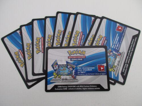 x10 Carte POKEMON Code JCC Pokémon Online SL3 Soleil et Lune Ombres Ardentes