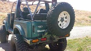 Suzuki Samurai Rear Bumper Tire Carrier