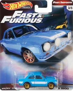 2015 Hot Wheels New Model Fast /& Furious 1970 Ford Escort RS1600
