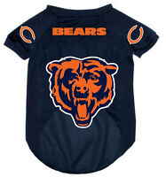 Chicago Bears Pet Dog Mesh Football Jersey All Sizes Alternate Style