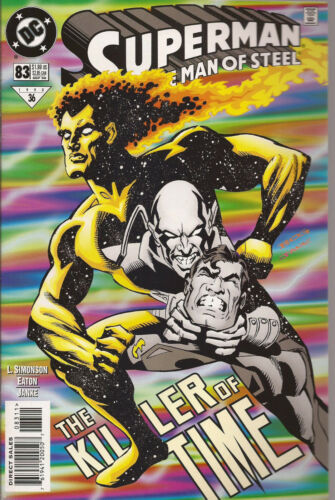 SUPERMAN MAN OF STEEL # 83 NEAR MINT