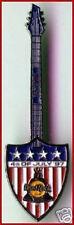 Hard Rock Cafe BANGKOK 1997 July 4th PIN - USA Shield Guitar HRC Catalog #54158