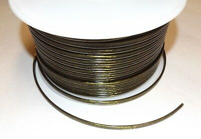 25 ft Antique Bronze 18//2 SPT-1 U.L Listed 2 Wire Plastic Covered Lamp Cord 604