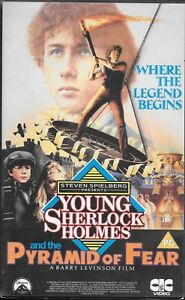 Young-Sherlock-Holmes-amp-The-Pyramid-of-Fear-PAL-UK-IMPORT-VHS-CIC-Clamshell