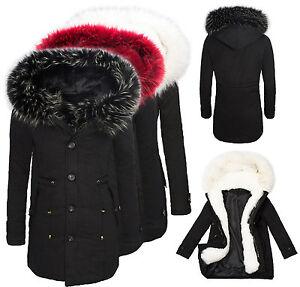 damen parka winter jacke damenmantel warm fellkapuze outdoor schwarz neu d 123 ebay. Black Bedroom Furniture Sets. Home Design Ideas