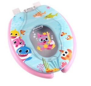 Prime Details About Pinkfong Shark Family Soft Toilet Cover Lid Seat Potty Training For Baby Kids Evergreenethics Interior Chair Design Evergreenethicsorg