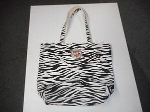 Tote bag beautiful zebra print cotton for travel shopping,diaper bag.