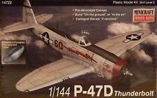 Minicraft 1:144 14722: P-47D Thunderbolt
