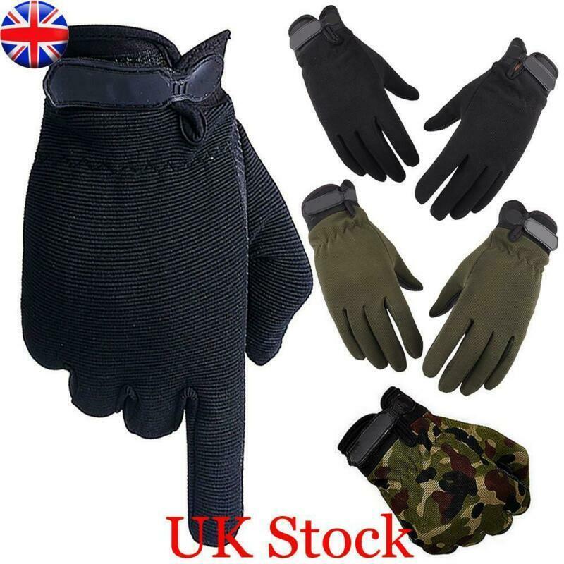 Men Outdoor Tactical Gloves Waterproof Jogging Skiing Hiking Full Finger Gloves