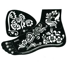 Henna Tattoo Schablone Kina Fußbemalung Dövme Fuß Links Mehndi
