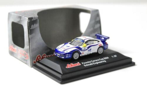 1:87 Schuco PORSCHE 911 Carrera Cup 2004 OVB #18 NEW per PREMIUM-MODELCARS