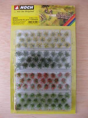 Noch Manojos de hierba verde en flor 12 mm ref.07010