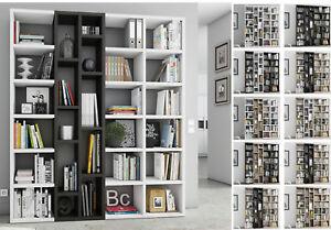 Toro Bucherregal Bibliothek Regalsystem Wohnzimmer Raumteiler Extrem