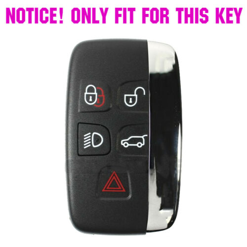 Silicone Key Cover Case Fob For Discovery 4 Freelander 3 Land Range Rover Sport
