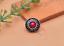10X-Silver-Tone-Flower-Leather-Craft-Bag-Belt-Purse-Decor-Turquoise-Conchos-Set miniature 6