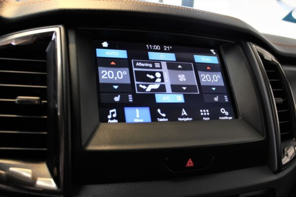 Ford Ranger 3,2 TDCi Rap Cab Wildtrak aut. 4x4 billede 10