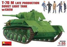 Mini Art 1/35 T-70 M Late Production Soviet Light Tank Model Kit 35030