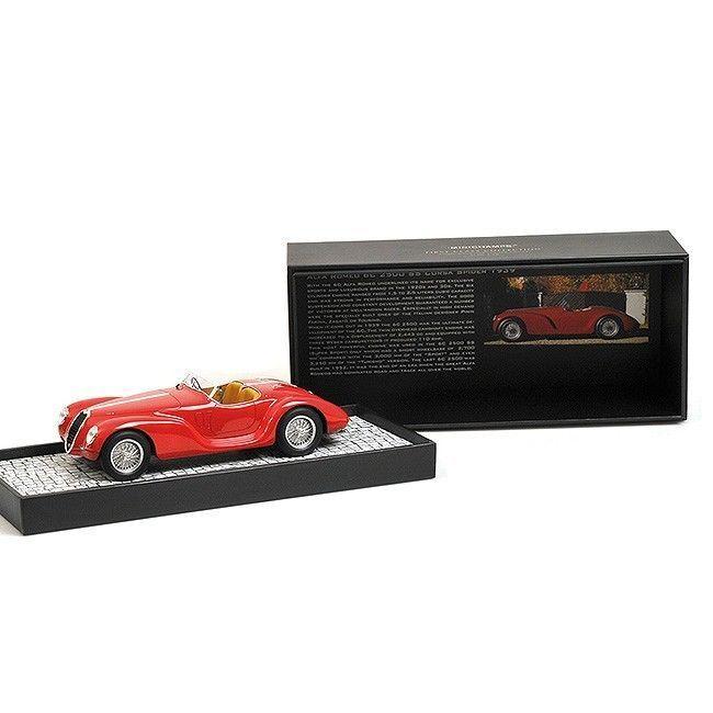 MINICHAMPS 1939 Alfa Romeo 6C SS Corsa Spider rojo 1 18 LE 999pcNew Item