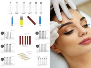 Microblading-Permanent-Make-up-Blades-Nadeln-Needle-Pins-Je-10-Stueck