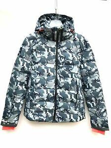 Superdry-Mens-Ski-Jacket-Camouflage-Size-Large