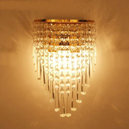 Crystal Chandelier Wall Lamp Pendant Light Fixture Lighting Modern Contemporary