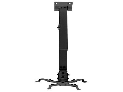 Universal Extendable Tilt Ceiling Projector Mount Bracket DLP LCD BenQ NEC Black
