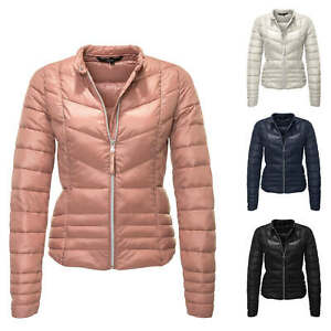 Vero Moda Damen Steppjacke Übergangsjacke Kapuzenjacke Damenjacke Color Mix