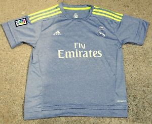 san francisco d26ef aee26 Details about Authentic 2015 Adidas Real Madrid Away Jersey CR7 Ronaldo ~  Size: 28 Never Worn