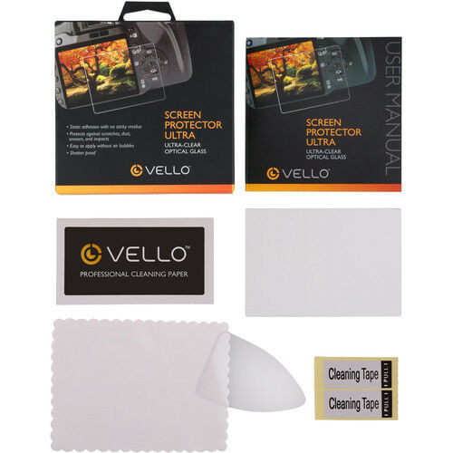 Vello LCD Screen Protector Ultra for Sony Alpha a7 a7S /& a7R Camera