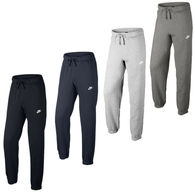 Nike Fleece Mens Track Pants Air Max Tech Tracksuit Soccer Jeans Joggers M For Sale Online Ebay