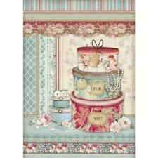 STAMPERIA A4 Decoupage Rice Paper packed Christmas vintage Patisserie*Specialty